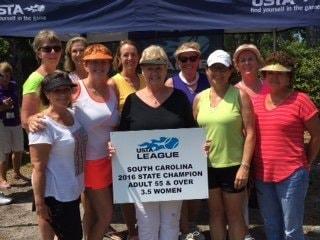 Grand Harbor Women Win USTA League SC State Championship