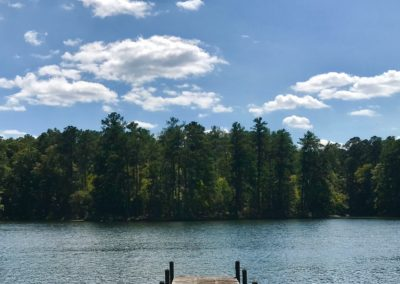 Lake Location With Dock in Place