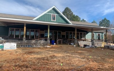 Clubhouse Renovation Progress 1/7/2021
